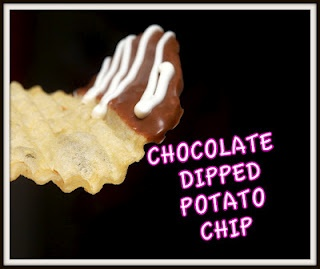 Chocolate Dipped Potato Chips - I must might try this. I've seen them ...