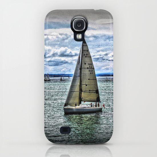 Yacht iPhone & iPod Case by AngelEowyn. $35.00
