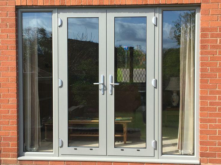 25 best ideas about aluminium french doors on pinterest bifold glass doors exterior glass for Aluminum french doors exterior