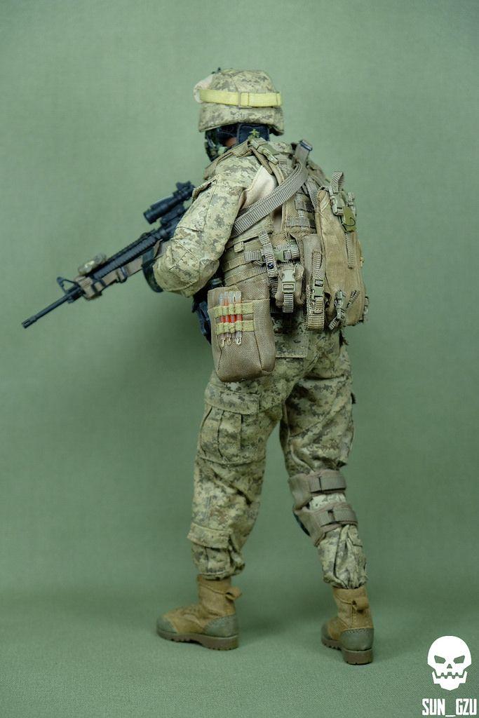 Modern War (1990s to Present) USMC - 1st BN 2nd MEB | Scale