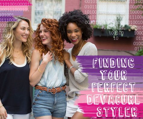 Want to learn how to style curly hair? Check out our best curly hair products on the DevaCurl Blog, For All Curl Kind. Best Curly Hair Products, How to Style Curly Hair, Styling curly hair naturally, Best Devacurl Products,