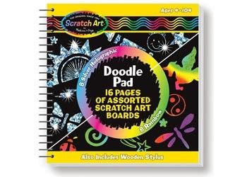 Scratch Magic Doodle Book by Melissa and Doug at www.kidstoystoyou.com.au