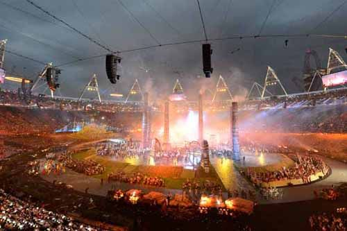 London 2012 Summer Olympics - Opening ceremony - Industrial Revolution