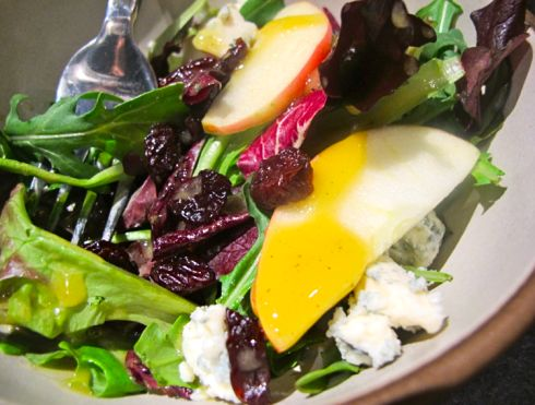 Apple, Pecan, and Blue Cheese Salad with Dried CHERRIES* Chrissy ...