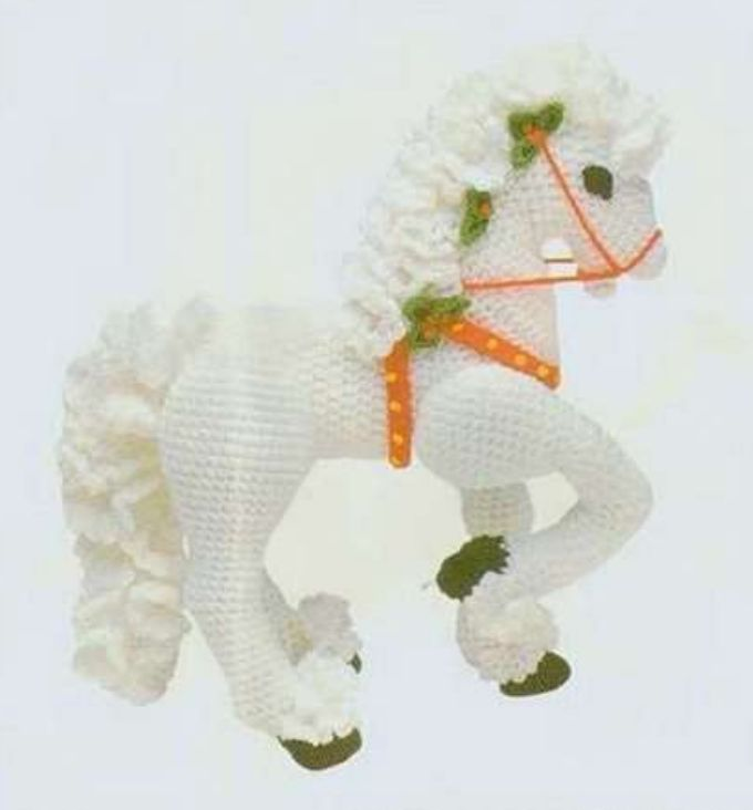 194 best caballo amigurumi images on Pinterest | Caballos, Ganchillo ...
