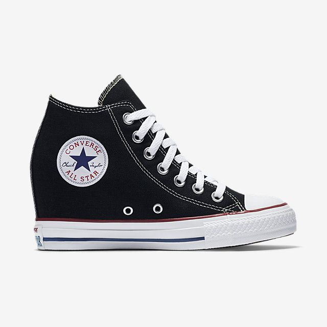 Converse Heel Hybrid.  I've never wanted to wear heels for my wedding, only converse. But I'd wear this! Since I'm short, these would work good
