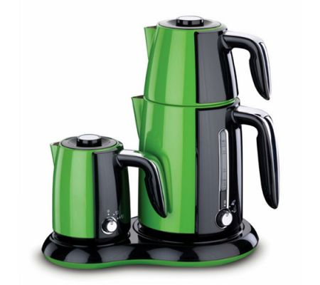 Korkmaz A367-02 Yeşil Çay Kahve Makinesi :: taskiranmarketing