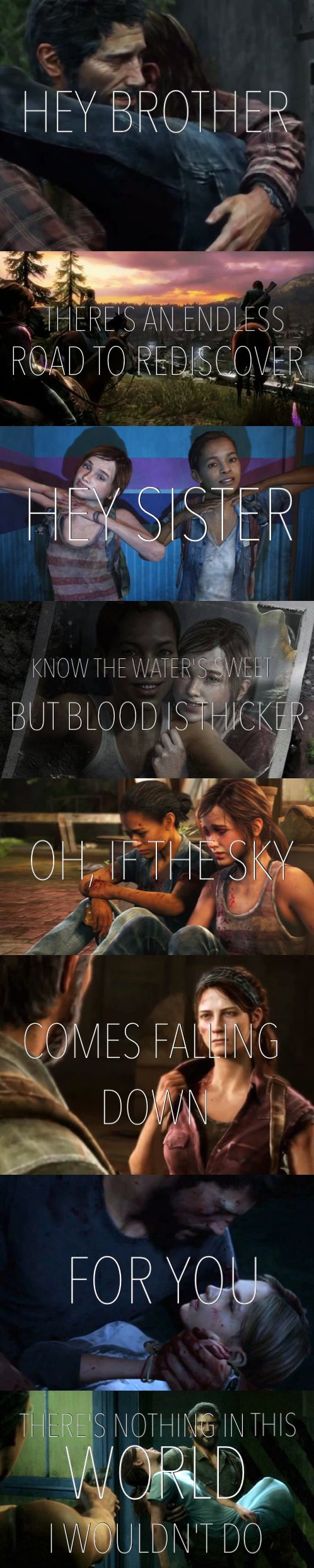 """The Last of Us meets """"Hey Brother"""" by Avicii"""