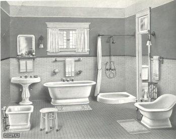 179 best images about 20s 30s 40s bathroom on pinterest for 1890 bathroom design