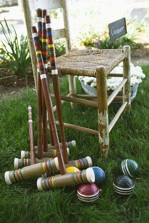 Croquet Set OMG I have mine from the 80s. I play it with my kids and we so love it!