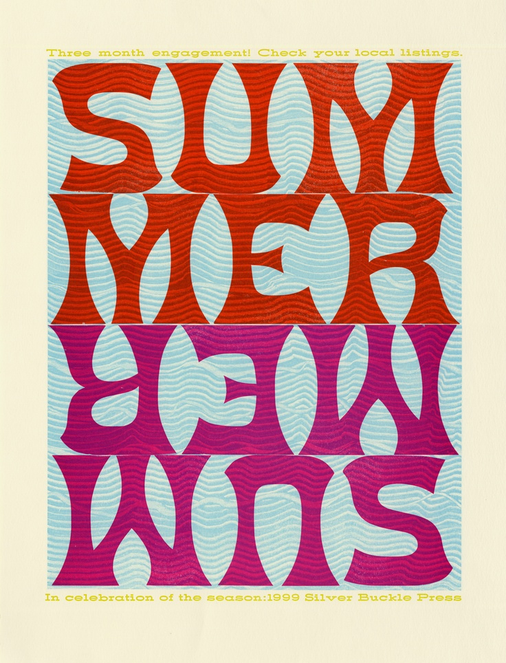 Summer 1999 printed by Silver Buckle Press