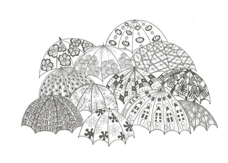 Coloring Book Pages Umbrella 153 Best Balloon Images On Pinterest