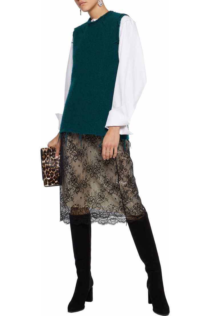 Corded lace skirt | MAISON MARGIELA | Sale up to 70% off | THE OUTNET