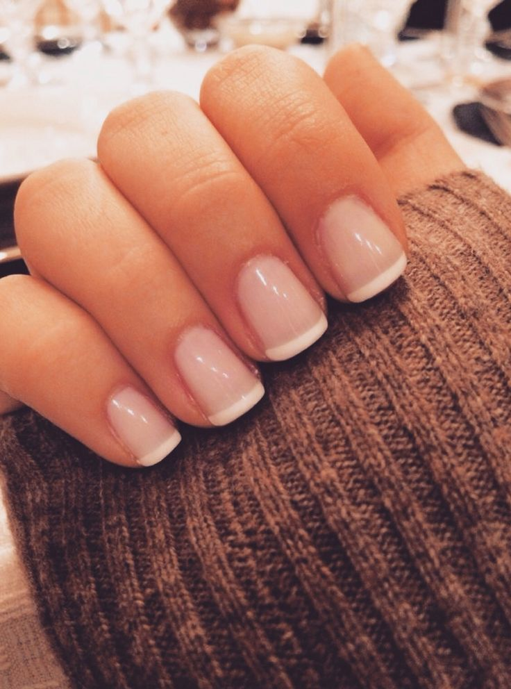 Classic Nails: 17 Best Ideas About French Tip Nail Designs On Pinterest