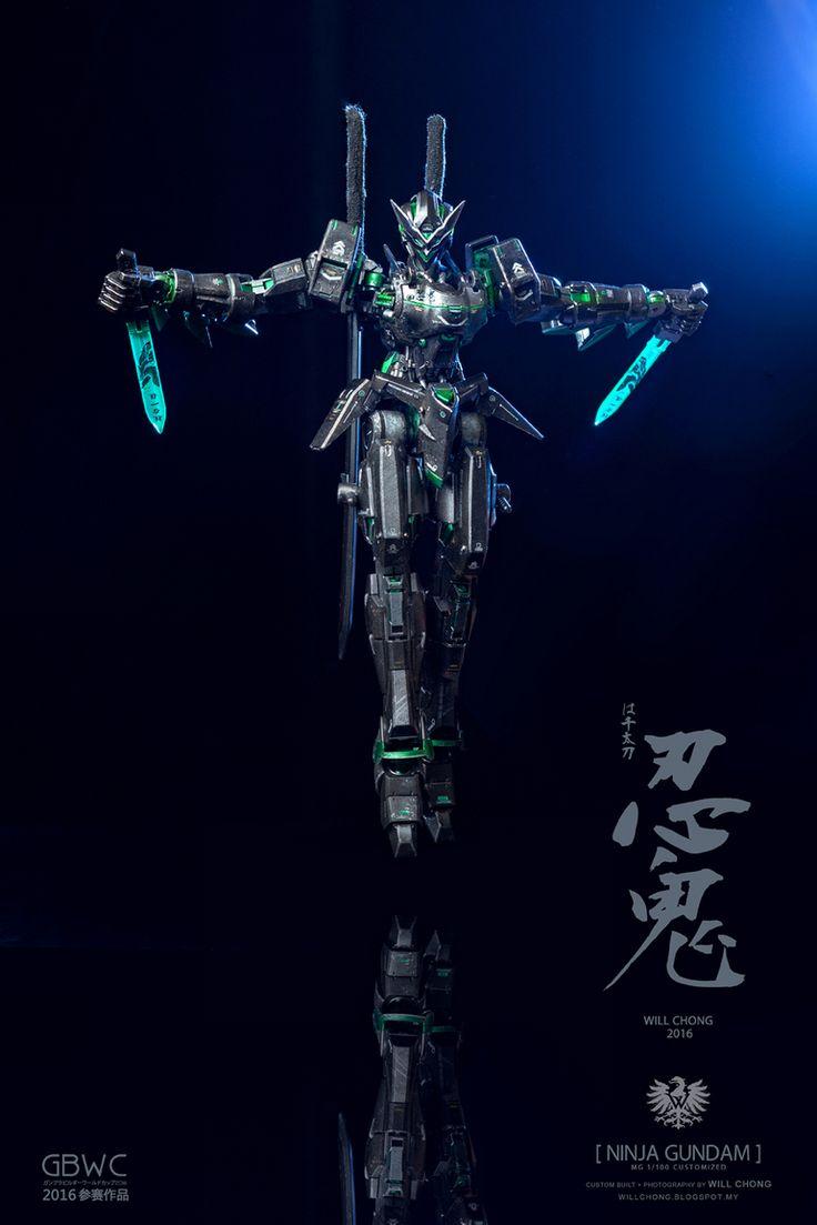 """GUNDAM GUY: MG 1/100 Gundam AGE-1 Spallow """"NINJA GUNDAM"""" [GBWC 2016 Malaysia] - Custom Build"""