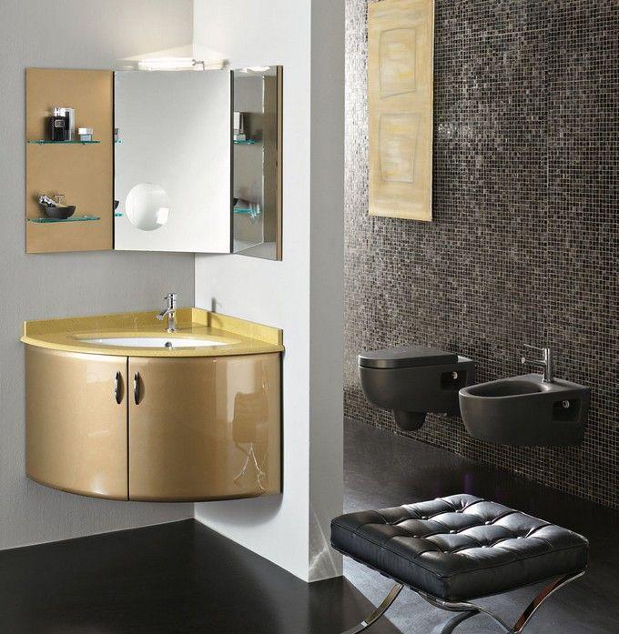 20 FUNCTIONAL BATHROOM CORNERS DESIGN IDEAS http://maisonvalentina.net/blog/funcional-bathroom-corners-design-ideas/ #bathroomcorners #bathroomideas #luxurybathrooms #interiordesign #designideas #luxury