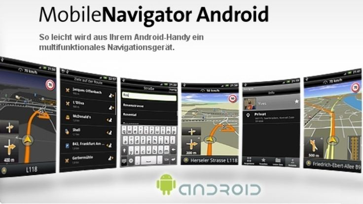 Selling on vFLea.com - NAVIGON Europe,USA - GPS Navigation For Android