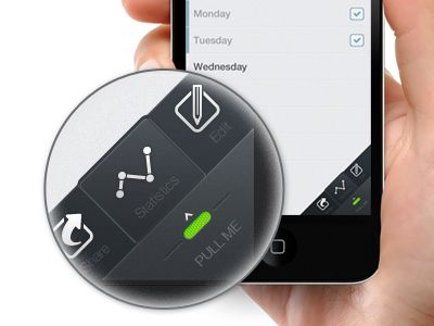 iOS mini menu