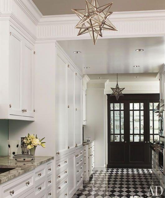 Checkered Kitchen Floor: Kitchen Modern, Sweet Home And Dream Kitchens