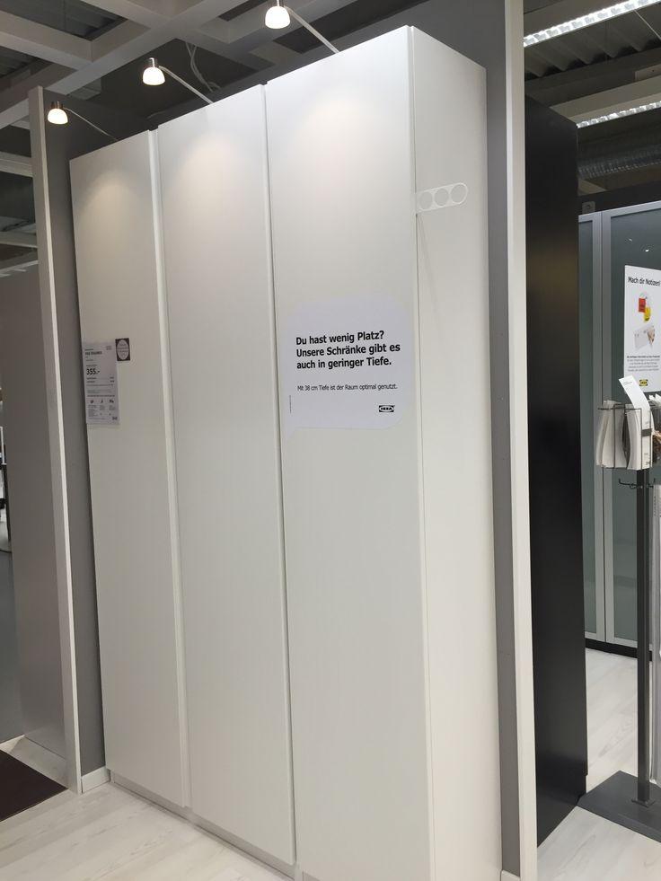 Schrank Ikea Pax Mit Türen Vikanes Keine Griffe Notwendig