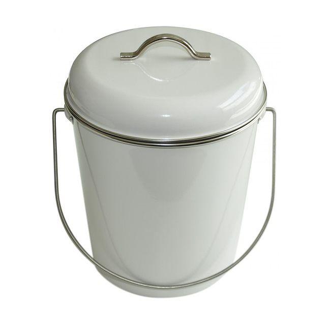poubelle salle de bains ou cuisine 6 l waterquest blanc waterquest - Poubelle Cuisine