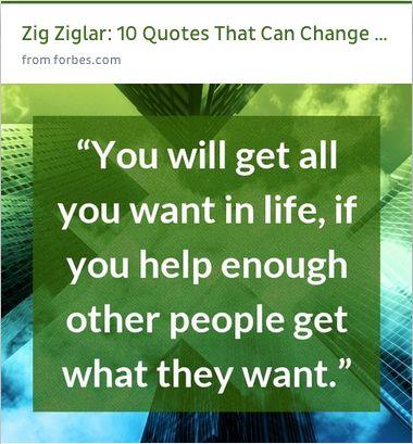 Inspirational Quotes From Zig Ziglar