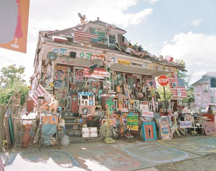 The Heidelberg Project started by Tyree Guyton in Detroit, Michigan.