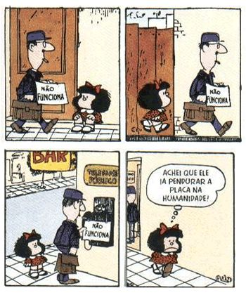 Tiras, HQ, historia em quadrinhos, mafalda, etc...