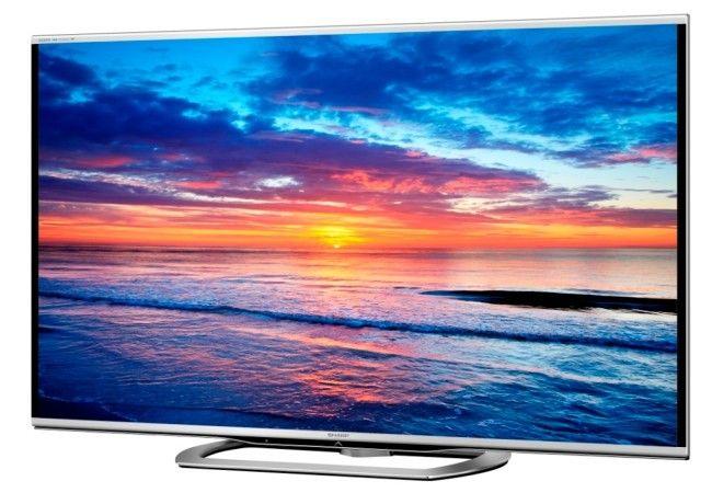 Sharp Aquos LE857E, big TVs