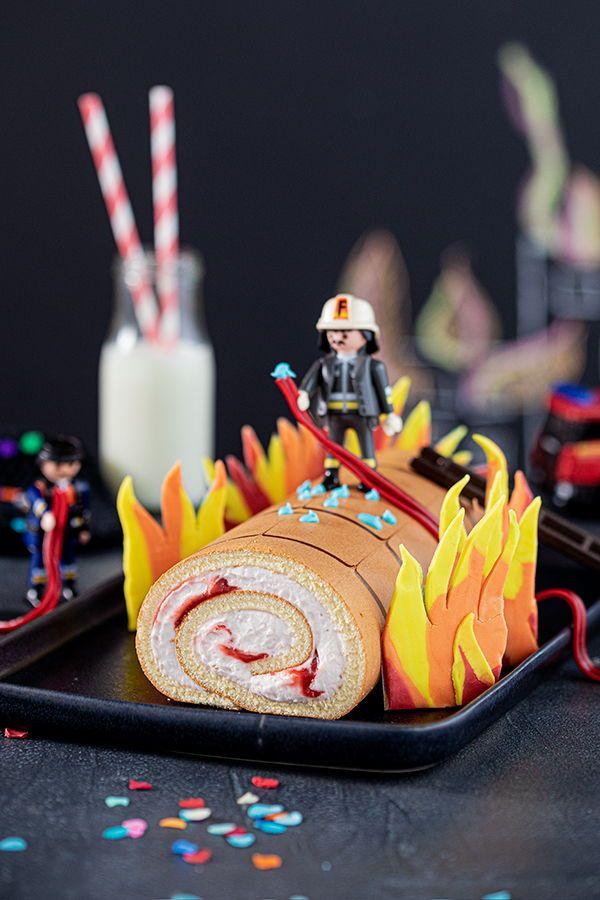 Feuerwehr Kuchen Zum Kindergeburtstag Kuchen Kindergeburtstag Feuerwehr Kuchen Und Kindergeburtstagstorte