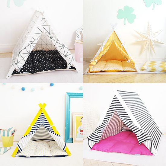 17 best ideas about cat teepee on pinterest cat tent for Dog tipi diy