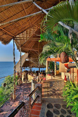 Le Kliff, Restaurant, Puerto Vallarta, Jalisco, Mexico   Douglas Peebles