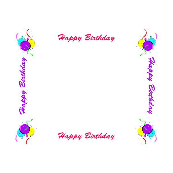 102 best Birthday Stationery images on Pinterest Contact paper - birthday template word