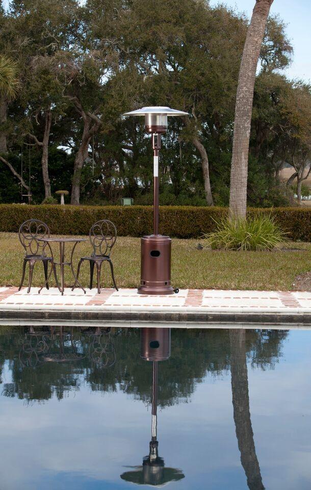 Fire Sense Commercial Propane Patio Heater U0026 Reviews | Wayfair