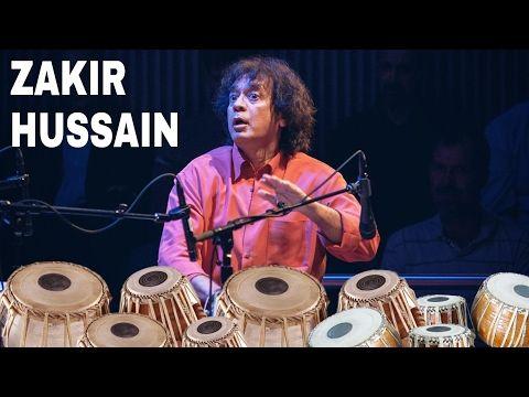 """USTAAD ZAKIR HUSSAIN"" Playing set of TABLA'S - YouTube"
