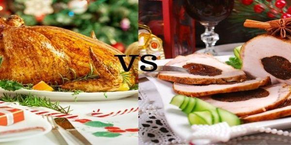 Γαλοπούλα VS χοιρινό: Εσείς τι θα επιλέξετε για το γιορτινό τραπέζι;