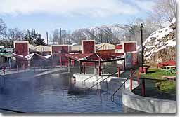 Lava Hot Springs in Utah