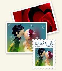 Los sellos de correos personalizados nos encantan para bodas! https://innovias.wordpress.com/2015/12/19/inspiracion-innovias-lo-ultimo-en-invitaciones-de-boda-la-caligrafia/