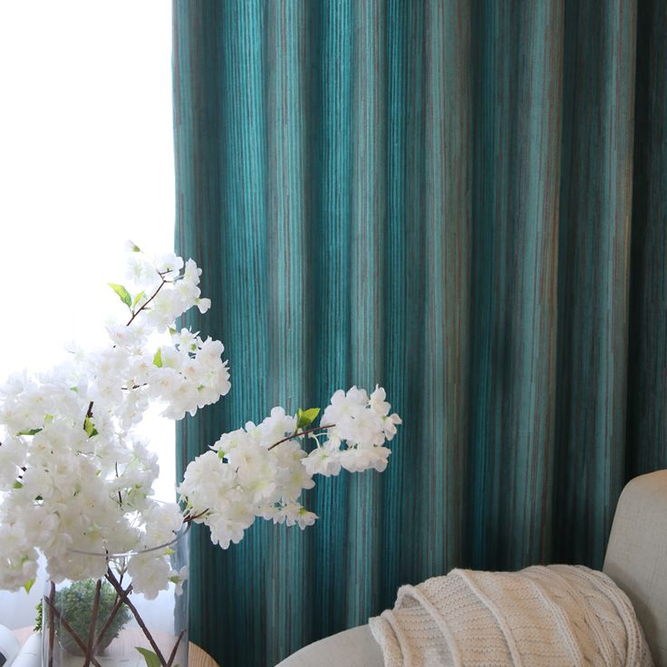 Роскошные простыня сделано фиолетовый номер короткие голубые современные Blackout панели синели шторы занавес окна гостиной шторы купить на AliExpress