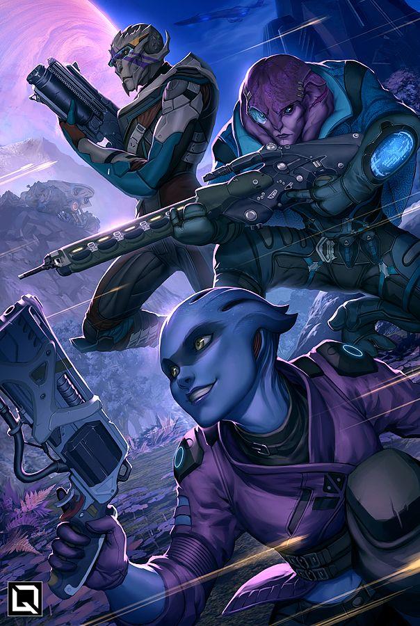 Mass Effect Andromeda fanart by Quirkilicious.deviantart.com on @DeviantArt