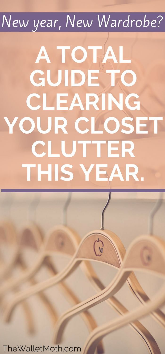 The declutter guide you NEED! This post talks you through clearing out your closet, how to declutter your wardrobe any time of the year, and the steps you need to take to build a capsule wardrobe. #declutter #capsulewardrobe #minimalist
