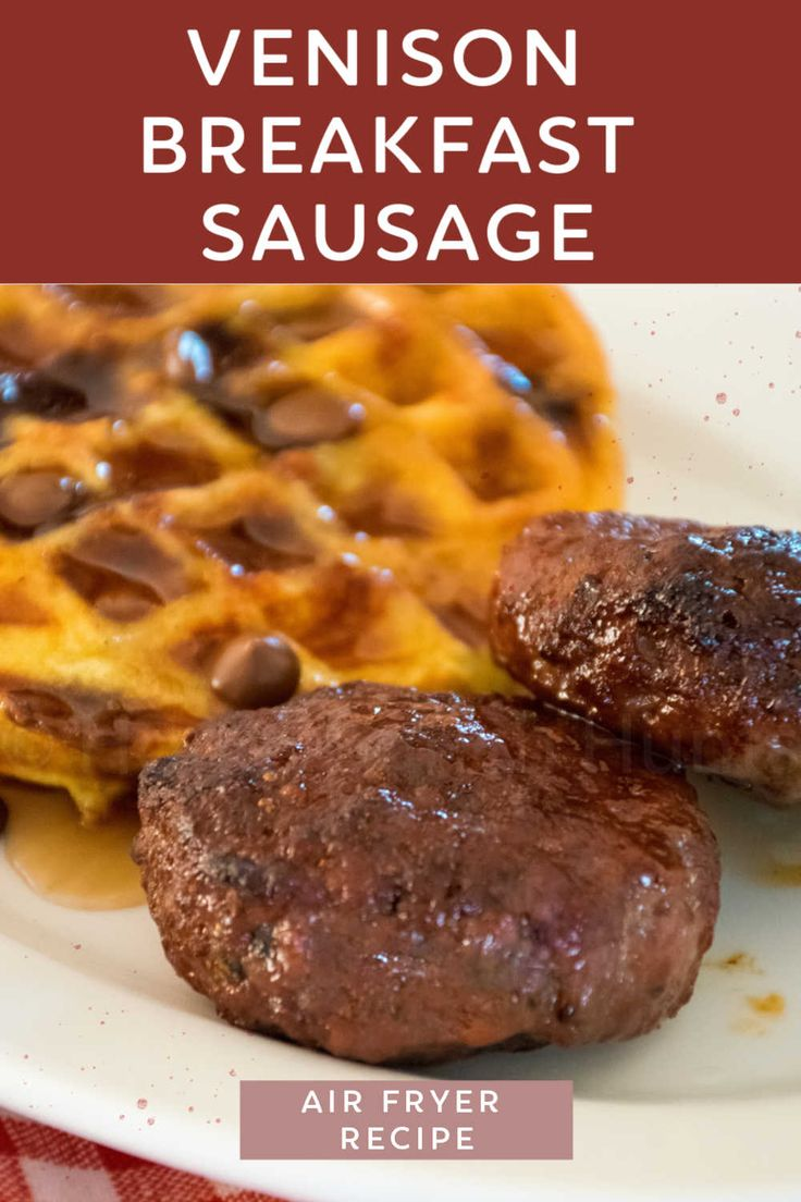 Venison Breakfast Sausage Air Fryer Recipe in 2020