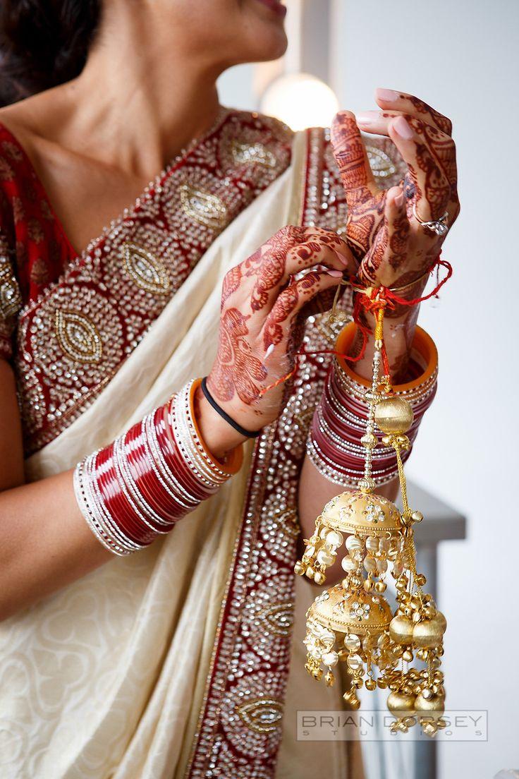 Photography: Brian Dorsey Studios - briandorseystudios.com Read More: http://www.stylemepretty.com/2014/04/18/colorful-indian-wedding-at-tribeca-rooftop/