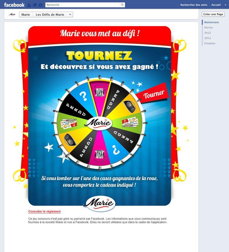 [MARIE] Une campagne de jeu-concours sur le thème des Défis de Marie. Des petits défis rigolos à relever à l'apéritif pour s'amuser en famille ou entre amis !