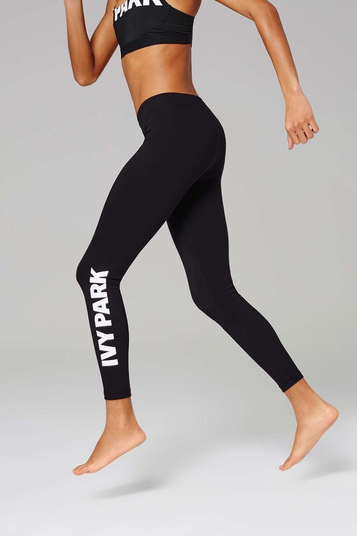 Full Length Logo Leggings by Ivy Park