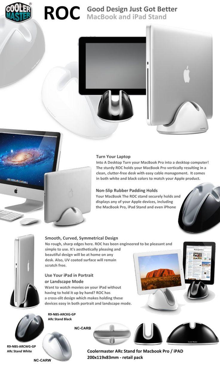 Macbook and ipad stand