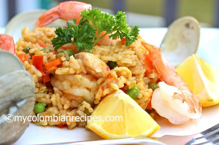 Arroz Marinero (Colombian-Style Seafood Rice)