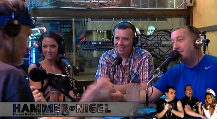 VIDEO: Lisa Mason Lee On Hammer and Nigel Show Indy: Mason Lee, Lisa Mason