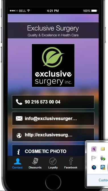 Watch for our NEW APP, Available Soon on Google Play and App Store! Great Discounts, Information and Cosmetic Surgery Simulation in Our App.