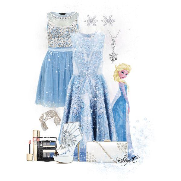 """Elsa - Formal - Disney's Frozen"" by rubytyra on Polyvore"